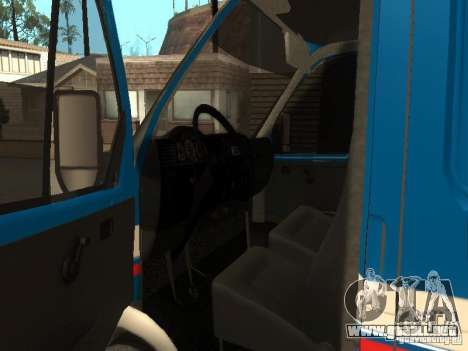 Correo 2705 gacela de Rusia para la visión correcta GTA San Andreas