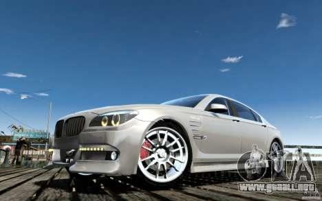 Pantallas de menú y arranque HAMANN BMW en GTA 4 para GTA San Andreas novena de pantalla
