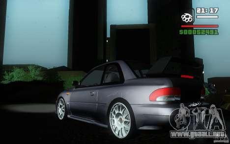 Subaru Impreza 22B para GTA San Andreas left