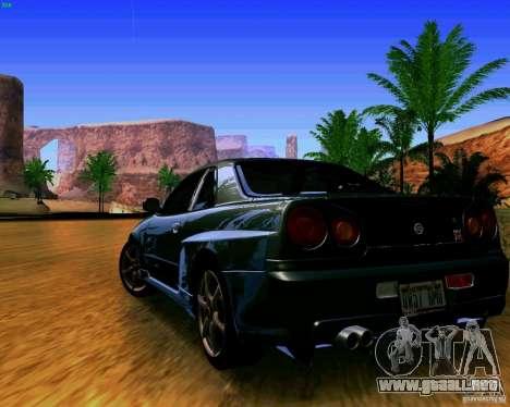 ENBSeries by S.T.A.L.K.E.R para GTA San Andreas segunda pantalla