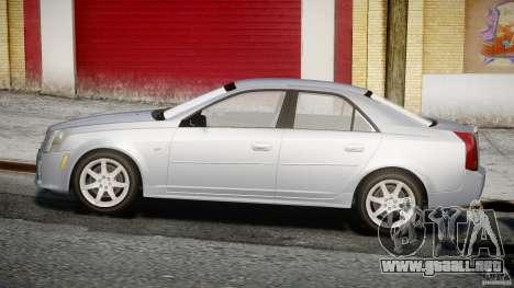 Cadillac CTS-V para GTA 4 vista interior