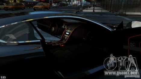 Aston Martin Virage 2012 v1.0 para GTA 4 visión correcta