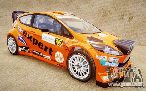 Ford Fiesta RS WRC para GTA 4