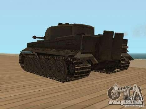 Pzkpfw VI Tiger para GTA San Andreas left