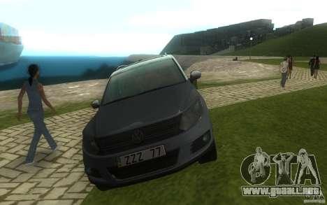 Volkswagen Tiguan 2012 para visión interna GTA San Andreas