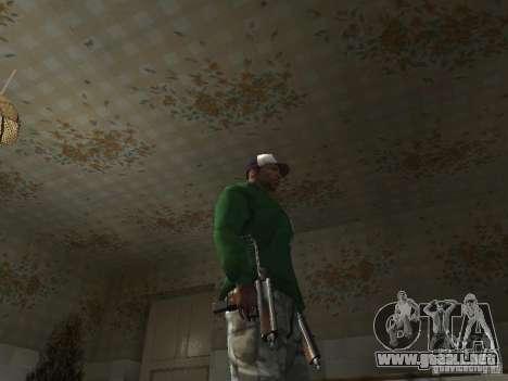 Pak domésticos armas V2 para GTA San Andreas décimo de pantalla