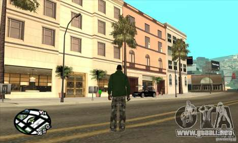 Empire of CJ v.3.8.0 para GTA San Andreas octavo de pantalla