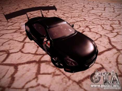 Lexus SC430 Daigo Saito para GTA San Andreas vista hacia atrás