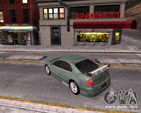Chrysler 300M tuning para visión interna GTA San Andreas