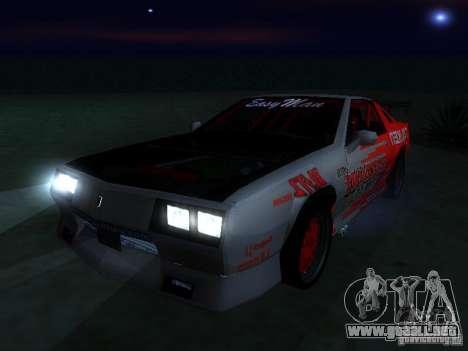 Buffalo DTM v2 para la visión correcta GTA San Andreas
