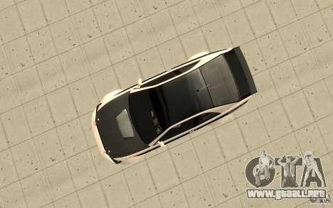 GTA IV Sultan RS FINAL para la visión correcta GTA San Andreas