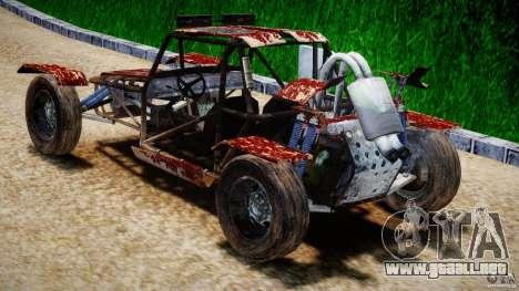 Buggy Avenger v1.2 para GTA 4 Vista posterior izquierda