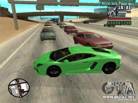 Automobile Traffic Fix v0.1 para GTA San Andreas