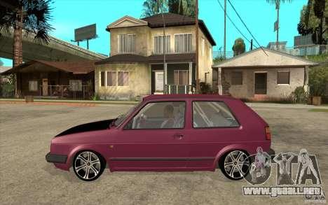 VW Golf 2 GTI para GTA San Andreas left