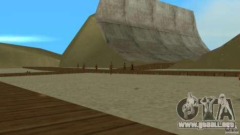 Vice City Beach-Park para GTA Vice City segunda pantalla
