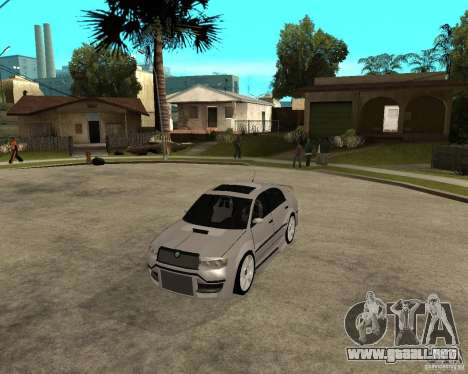 Skoda Superb Light Tuning para GTA San Andreas left