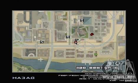Estación de llenado de TNK para GTA San Andreas sucesivamente de pantalla