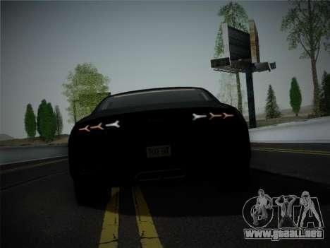 Lamborghini Estoque Concept 2008 para vista inferior GTA San Andreas