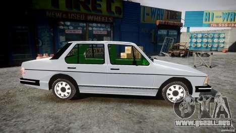Volkswagen Jetta 1981 para GTA 4 vista hacia atrás