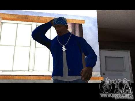 Piru Street Crips para GTA San Andreas tercera pantalla