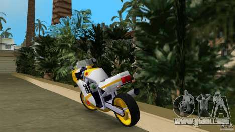Suzuki GSX-R 750 1989 para GTA Vice City vista lateral izquierdo