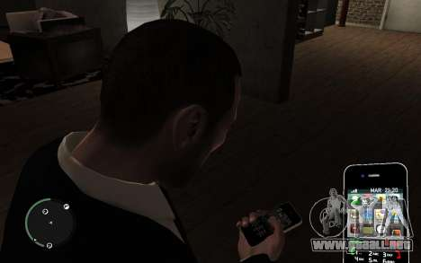 Iphone 4G para GTA 4