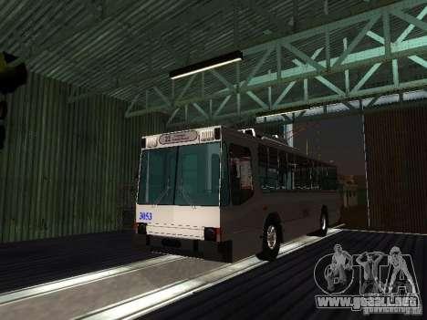 Yumz T2 para GTA San Andreas vista hacia atrás
