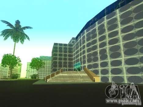 Edificio nuevo en LS para GTA San Andreas quinta pantalla