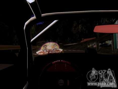 Nissan 240SX V2 para GTA San Andreas vista hacia atrás