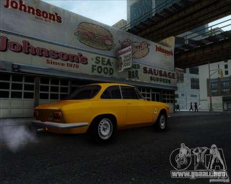 Alfa Romeo Giulia Sprint 1965 para la visión correcta GTA San Andreas