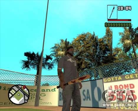 Brocas sangrientos para GTA San Andreas tercera pantalla