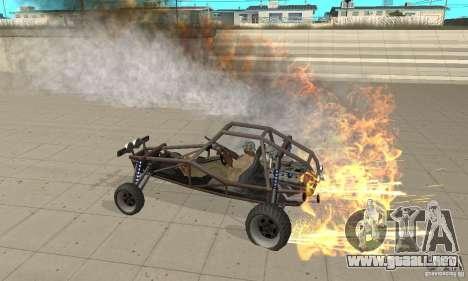 GTA FEATURE BURNOUT FIX 1.2 para GTA San Andreas segunda pantalla