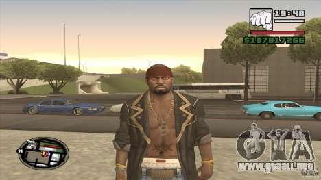 Sam B from Dead Island para GTA San Andreas