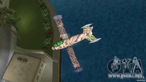 Conceptual Fighter Plane para GTA Vice City visión correcta