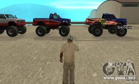 La bomba atómica para GTA San Andreas segunda pantalla