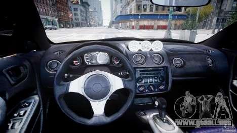 Mitsubishi Eclipse GTS Coupe para GTA 4 visión correcta