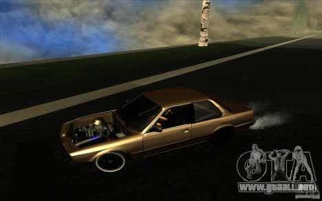 BMW E30 2.7T para GTA San Andreas left