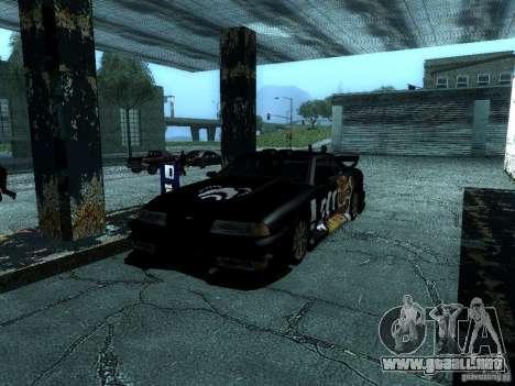 Vinilo gran Lou de Most Wanted para visión interna GTA San Andreas
