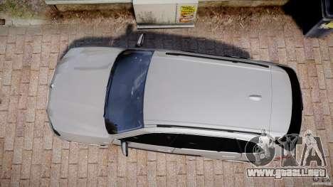 BMW X5 xDrive 4.8i 2009 v1.1 para GTA 4 visión correcta