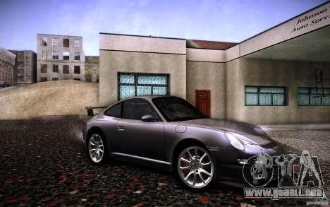 Porsche 911 GT3 (997) 2007 para la visión correcta GTA San Andreas