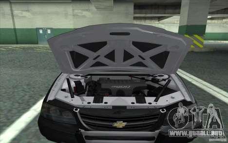 Chevrolet Impala 2003 SFPD para la visión correcta GTA San Andreas