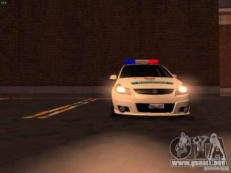 Suzuki SX-4 Hungary Police para el motor de GTA San Andreas