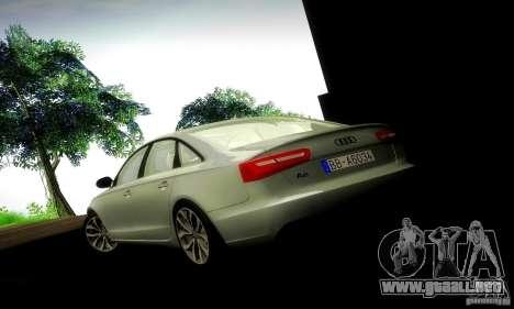Audi A6 2012 para GTA San Andreas interior