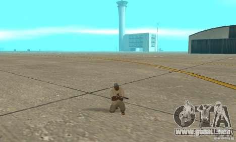 Actdead para GTA San Andreas segunda pantalla