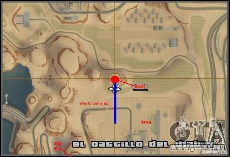 Downhill Drift para GTA San Andreas décimo de pantalla