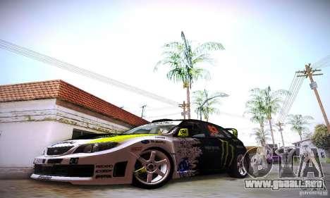 New El Corona para GTA San Andreas sucesivamente de pantalla
