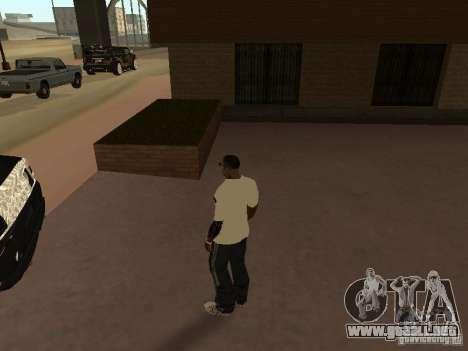 Jersey Adidas para GTA San Andreas segunda pantalla