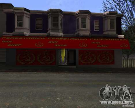 Almacena la reestructuración para GTA San Andreas tercera pantalla