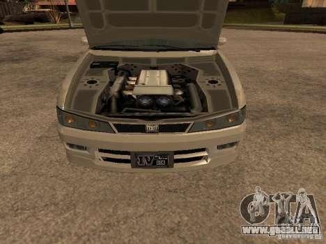 Chavos de Gta 4 para GTA San Andreas vista posterior izquierda