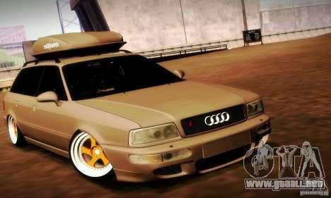 Audi RS2 Avant Thug para la visión correcta GTA San Andreas